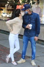 Selma Blair Steps out for coffee in Los Angeles