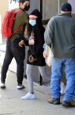 Skai Jackson Leaving dance practice at the DWTS studio in Los Angeles