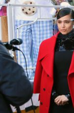 Sofia Carson Taping for Macy