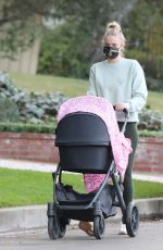 Sophie Turner Out in Los Angeles with her daughter