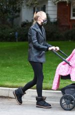 Sophie Turner Steps out for an afternoon walk with her daughter in Los Angeles