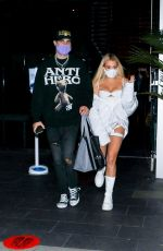 Tana Mongeau Seen leaving a dinner date at BOA steakhouse in West Hollywood