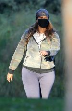 Tyra Banks Enjoys Casual Stroll In The Park A Day After Wrapping Up Hosting Duties On