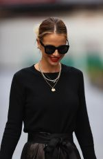 Vogue Williams Outside Heart Radio in London