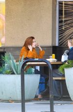 Zoey Deutch Has lunch in West Hollywood