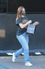 Addison Rae Leaves XIV karats in Beverly Hills