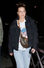 Adèle Exarchopoulos Seen leaving Quotidien TV set in Paris