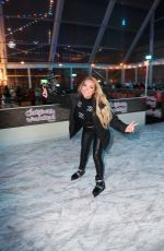 Aisleyne Horgan-Wallace attend the Lakeside Skating Ring Press Night in Essex