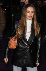 Amber Davies At the Press Night for A Christmas Carol at the Dominion Theatre in London