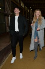 Amy Hart Heads for an outdoors dinner with friends at 29 restaurant