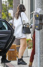 Ana De Armas Arrives to a studio in Hollywood