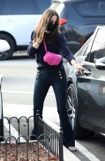 Ana De Armas out Christmas shopping in Pacific Palisades