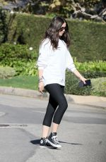 Ana De Armas Out in Brentwood
