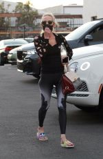 Anne Heche At the Dancing with the Stars rehearsal studio in Hollywood