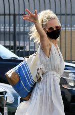 Anne Heche At the Dancing with the Stars studio in LA