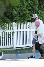 Ariel Winter Out for walk with friends in LA