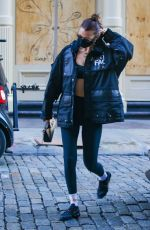 Bella Hadid Seen out in New York