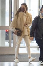 Brooke Shields Arriving to JFK Airport in New York
