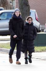 Camila Cabello Spotted going for a walk in Shawn