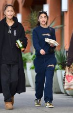 Chantel Jeffries Out with a friend in LA