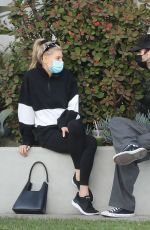 Charlotte McKinney Enjoys a matcha drink with a friend at Cha Cha Matcha in West Hollywood