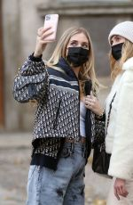 Chiara Ferragni Out and About in Milan