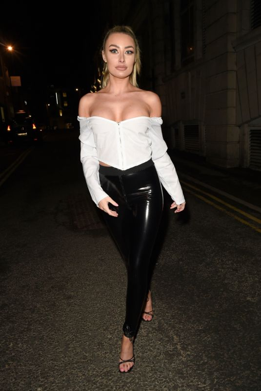 Chloe Crowhurst Puts on a busty birthday display as he is spotted glommed up for a trip to the shop in Leeds