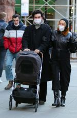Chloe Sevigny During a happy stroll with their baby in Manhattan