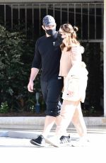 Chris Pratt & Katherine Schwarzenegger Out for a walk as the duo celebrate her 31st birthday in Brentwood
