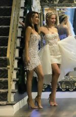 Chrishell Stause & Heather Rae Young Goes wedding dress shopping in Los Angeles