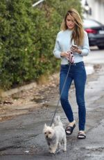 Chrishell Stause Steps out for a morning walk in the Hollywood hills