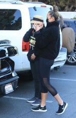 Chrissy Teigen and her Mom picks up grocery at Bristol Farms in Beverly Hills