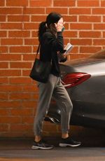 Courteney Cox Exiting a medical building with a friend in Beverly Hills