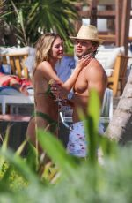 Delilah Belle Hamlin and Eyal Booker PDA in Tulum, Mexico