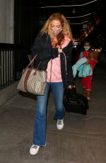 Denise Richards At LAX in Los Angeles