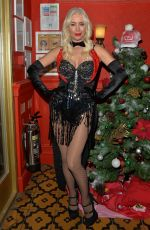 Denise Van Outen Makes a surprise appearance at Bunga Bunga Covent Garden in London