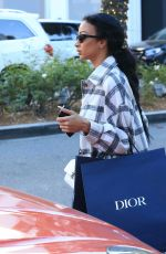 Draya Michele Looks casually chic as she is spotted shopping on Rodeo Drive in Beverly Hills