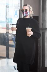 Emma Roberts On a coffee run in Los Angeles