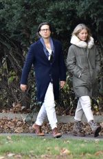 Gwyneth Paltrow Is spotted out with husband Brad Falchuk in the Hamptons, New York