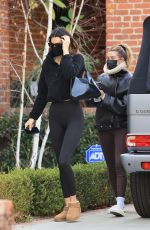 Hailey Baldwin/Bieber & Kendall Jenner Head for a workout session together in Los Angeles