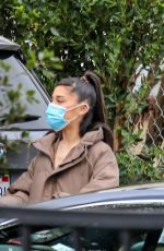 Hailey & Justin Bieber Meets up with Ariana Grande and her boyfriend in Brentwood