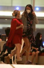 """Hilary Duff, Sutton Foster & Laura Benanti Pictured filming a scene at the """"Younger"""" set at the"""