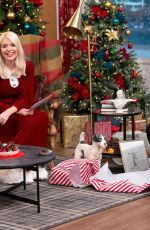 Holly Willoughby At This Morning Christmas Special TV Show