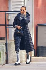 Irina Shayk Looks stylish while out running errands ahead of the weekend in New York