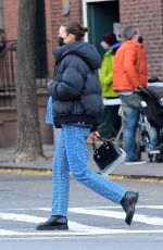 Irina Shayk Spotted out in New York City