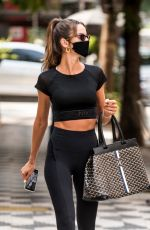 Izabel Goulart Out in Sao Paulo