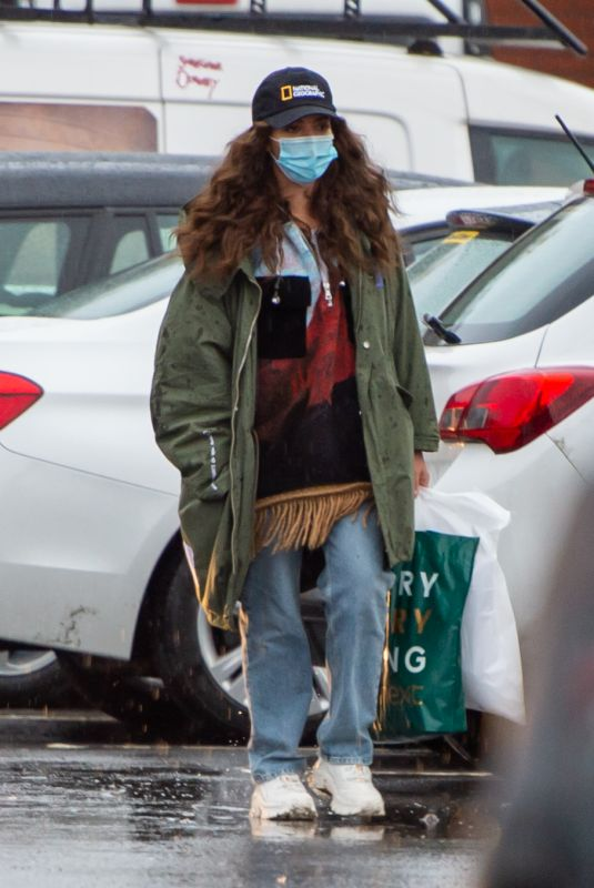 Jade Thirlwall Out shopping with her boyfriend Jordan Stephens in Newcastle upon Tyne
