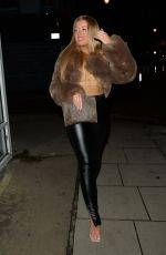Jess and Eve Gale seen heading for a night out in London