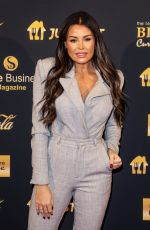 Jessica Wright At British Curry Awards 2020 in London