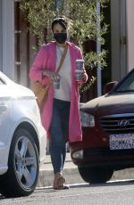 Jordana Brewster Spotted out for coffee in Brentwood